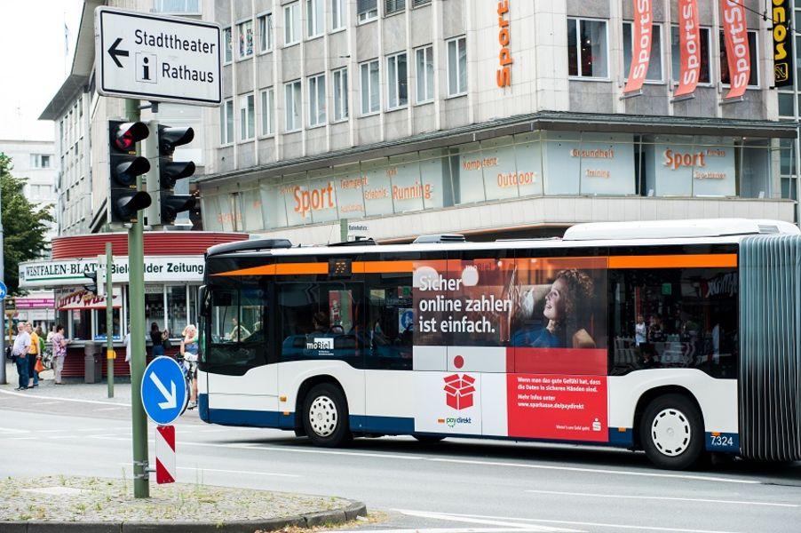 Verkehrsmittelwerbung Ihre Werbung Im Richtigen Blickwinkel Mobiel